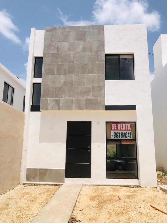 Foto Casa en Renta en  Fraccionamiento Los Héroes,  Mérida  En renta casa nueva en privada con amenidades lista para estrenar cerca de Altabrisa, en el norte de Mérida.