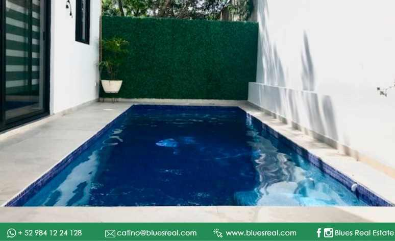 Picture House in Sale in  Playa del Carmen,  Solidaridad  House for sale in Playa del Carmen at Bosques de Bambú