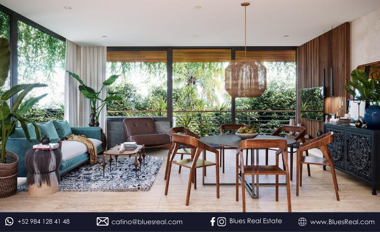 Picture House in Sale in  Tulum ,  Quintana Roo  New residences for sale at Bloom Maya Residential Tulum   Royal Blues   Code 900