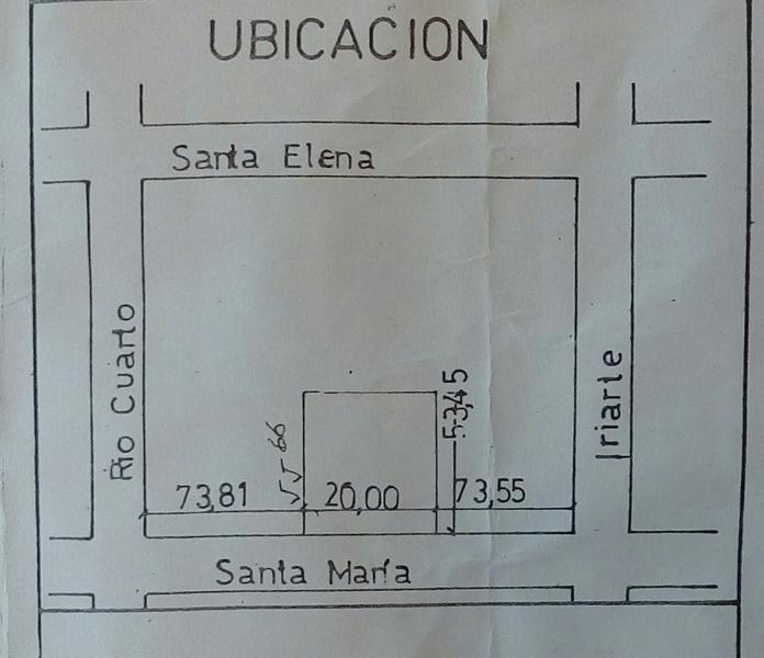 Foto Terreno en Venta en  Barracas ,  Capital Federal  Iriarte y Santa Maria del Buen Aire