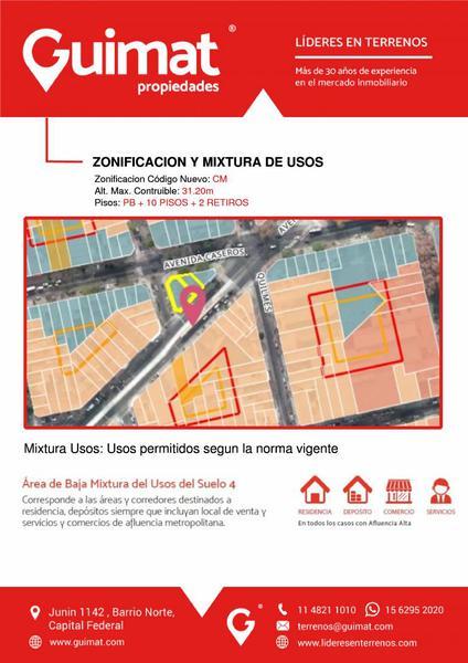 Foto Terreno en Venta en  Parque Patricios ,  Capital Federal  CASEROS AL 3800