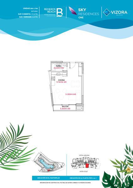 Foto Departamento en Venta en  Remeros Beach,  Countries/B.Cerrado (Tigre)  RB   SKY 1 - 308