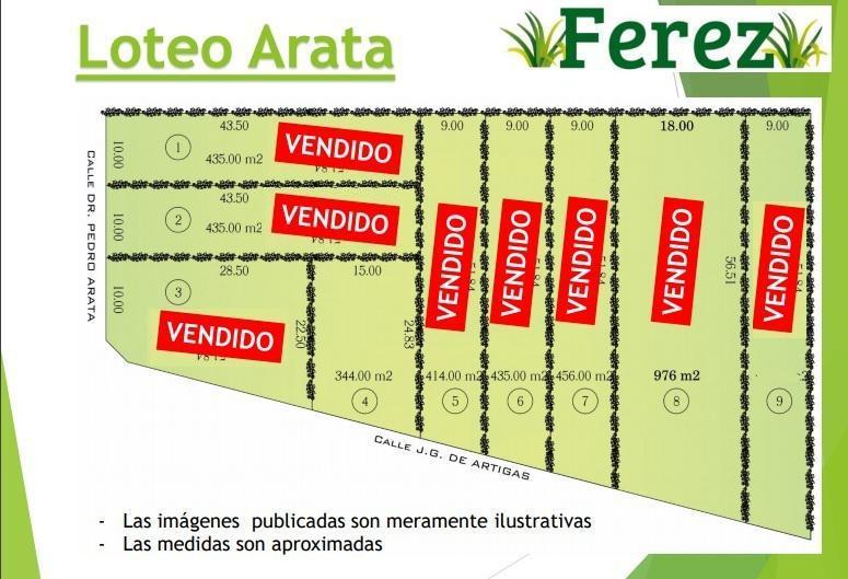 Foto Terreno en Venta en  Jose Clemente Paz,  Jose Clemente Paz  gervasio de Artigas al 6200