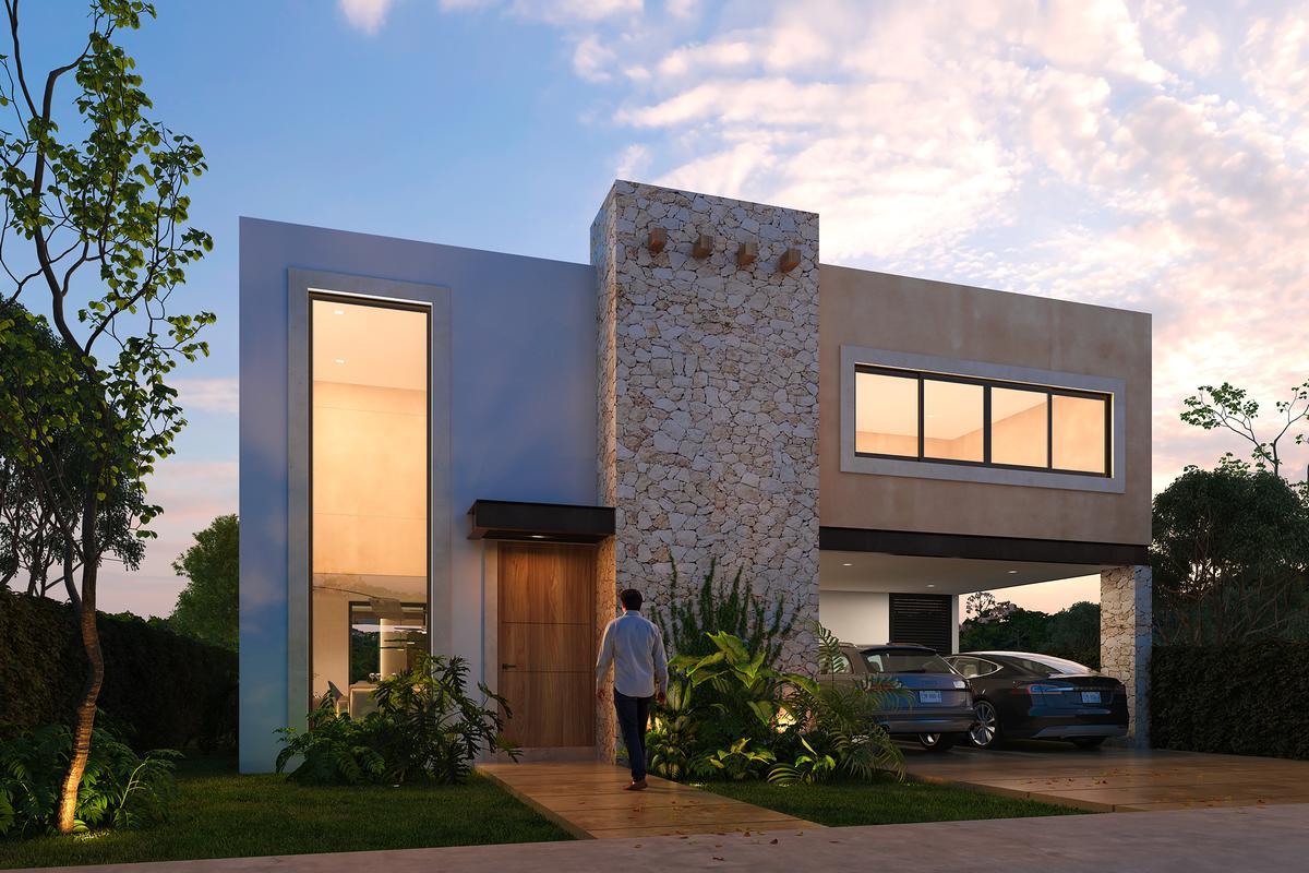 Foto Casa en Venta en  Pueblo Tamanche,  Mérida  Casa Privada Rocio Country Living (Mod.245)