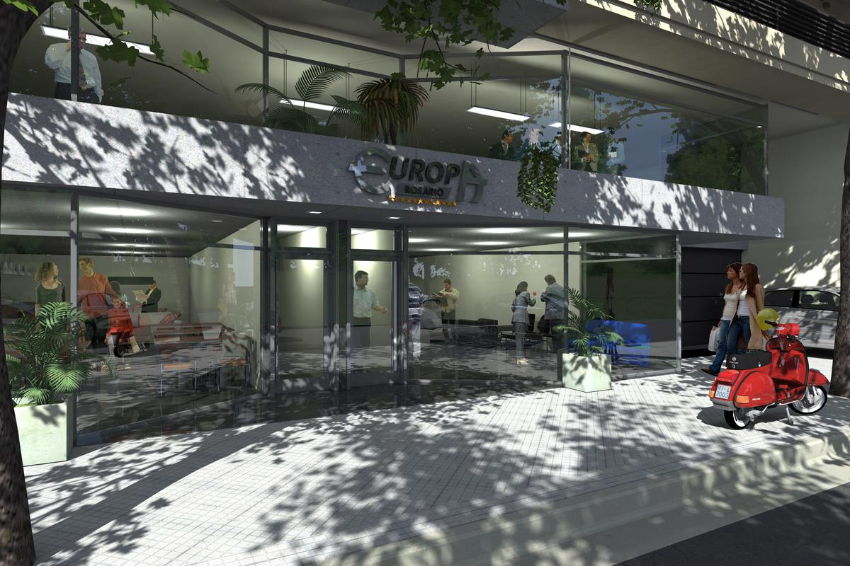 """Foto Departamento en Venta en  Centro,  Rosario  PARIS / ROMA - Paraguay 331 - Monoambiente Torre1  09""""D"""""""