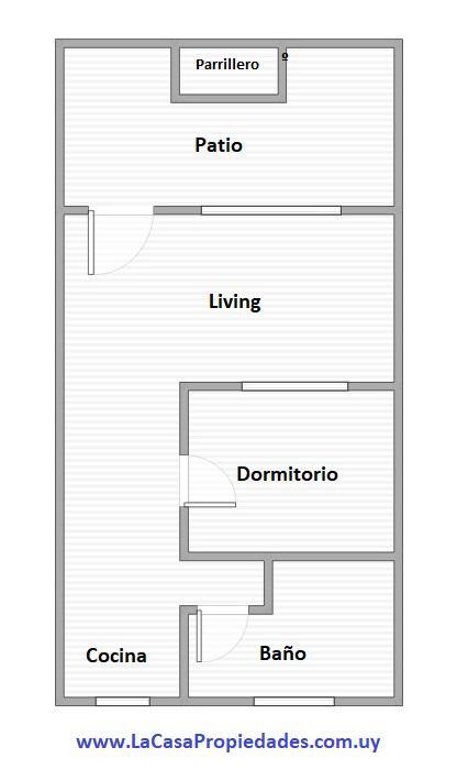 Foto Apartamento en Venta en  Malvín ,  Montevideo  Hipólito Yrigoyen al 1500
