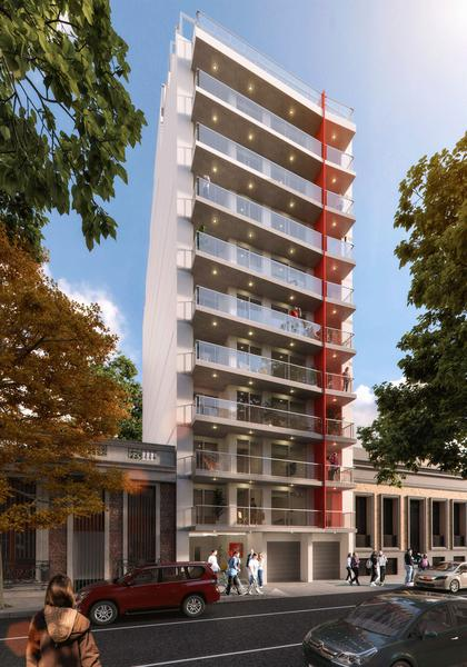 Foto Departamento en Venta en  Centro (Montevideo),  Montevideo  Apartamento dos dorm, terraza, piso alto, estrenar Abril 2021