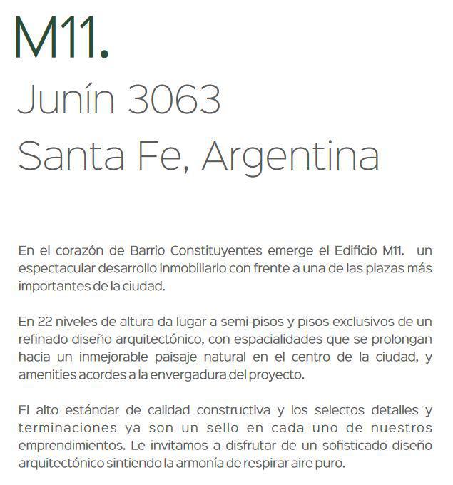 Foto Departamento en Venta en  Centro,  Santa Fe  JUNIN al 3000