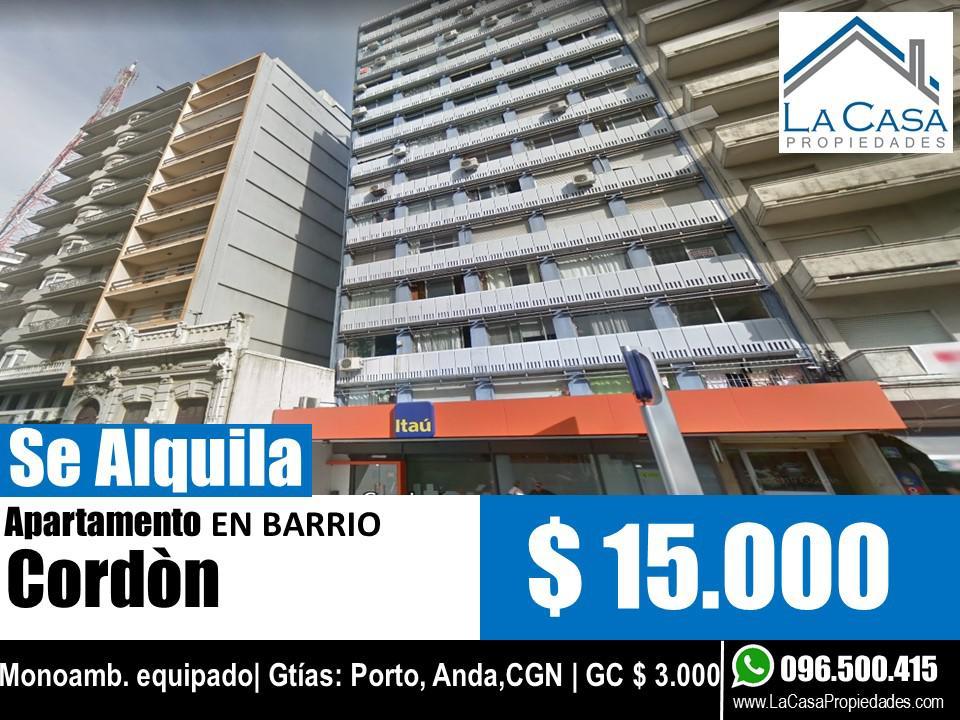 Foto Apartamento en Alquiler en  Cordón ,  Montevideo  18 de Julio al 2200
