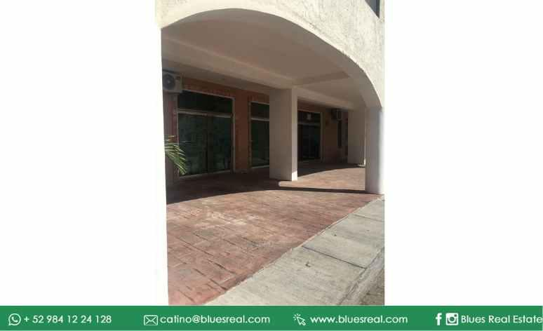Picture Bussiness Premises in Rent in  Solidaridad ,  Quintana Roo  For rent 2 locals in Playa del Carmen downtown - Code 902