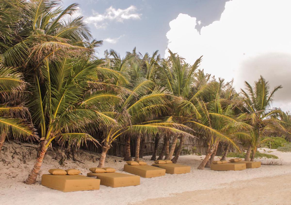 Foto Casa en Renta temporal en  Boca Paila,  Tulum  Fantástica Location en la playa de Tulum