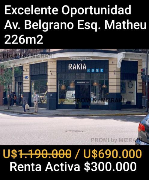Foto Local en Venta |  en  Almagro ,  Capital Federal  Av. Belgrano al 2300
