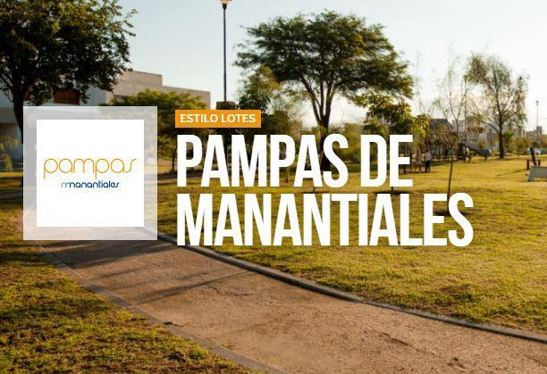 Foto Terreno en Venta en  Prados de Manantiales,  Cordoba Capital  pampas de manantiales