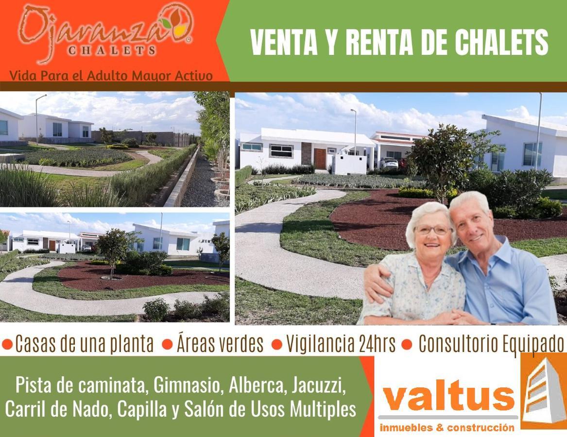 Foto Casa en condominio en Renta en  Horizontes,  San Luis Potosí  RENTA DE CHALETS FRACC. OJARANZA ETAPA 4