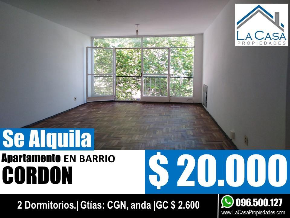 Foto Apartamento en Alquiler en  Cordón ,  Montevideo  Constituyente 1657/003
