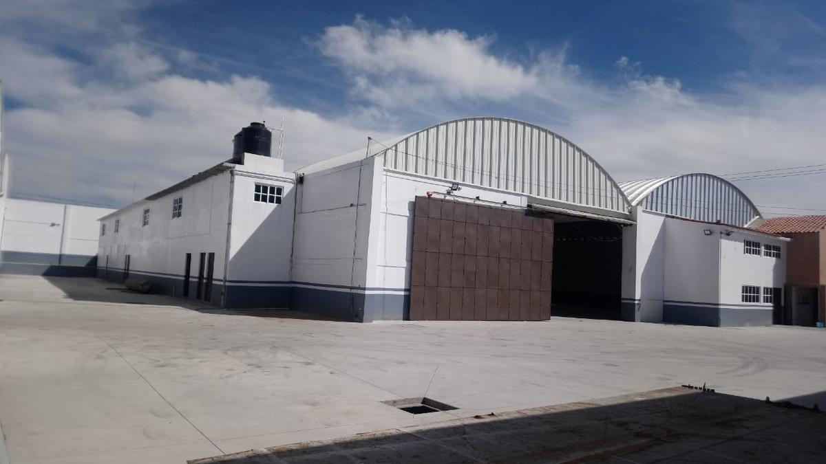 Foto Bodega Industrial en Renta en  La Constitución Totoltepec,  Toluca  Bodega Industrial en Renta Av. La Partidas.