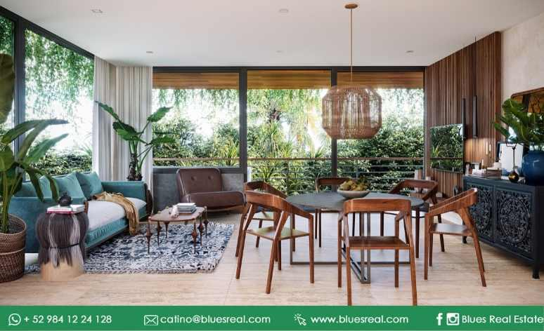 Picture House in Sale in  Tulum ,  Quintana Roo  New residences for sale at Bloom Maya Residential Tulum | Royal Blues | Code 900
