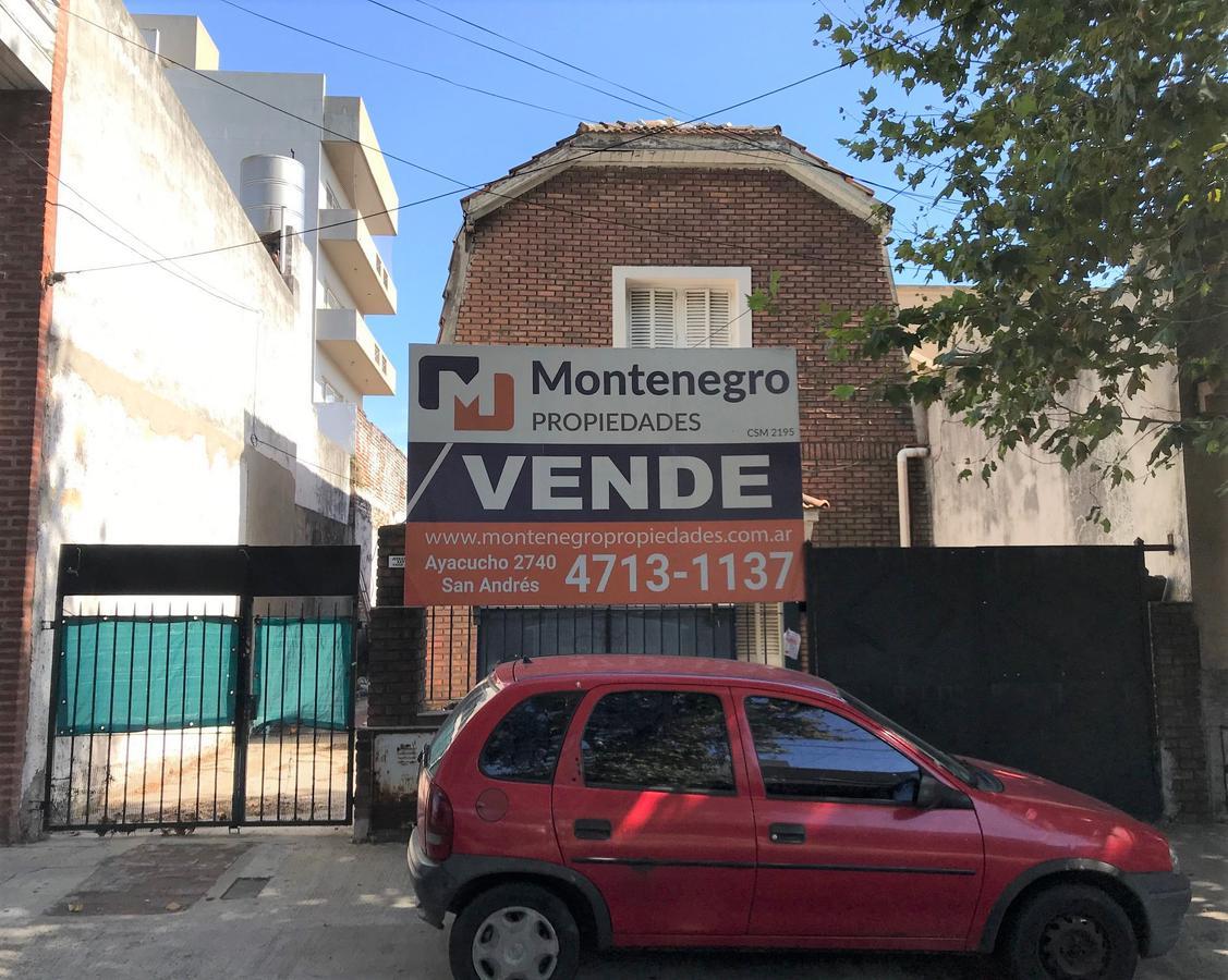 Foto Terreno en Venta en  San Andres,  General San Martin  Jose C Paz Nº 3200