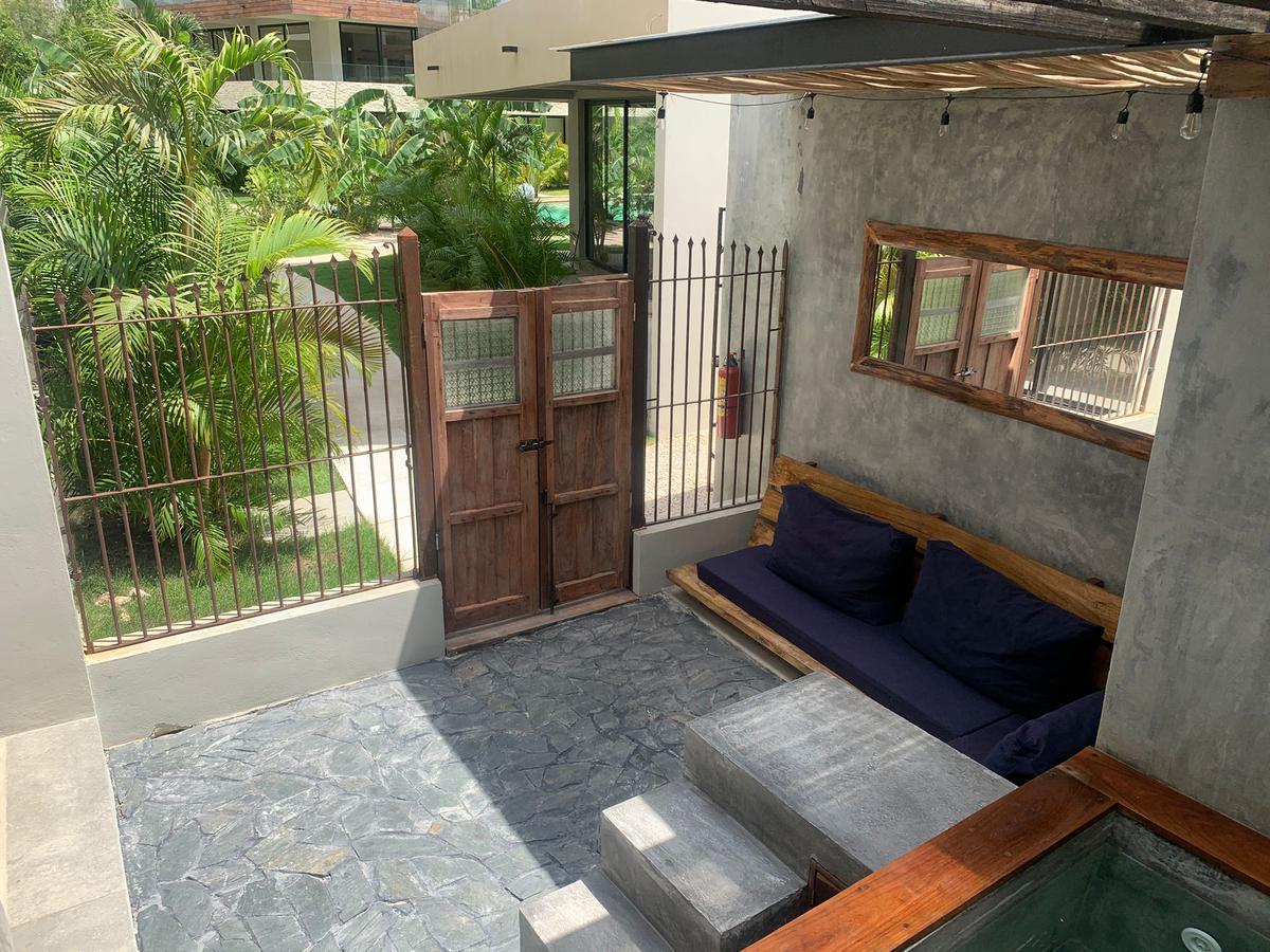 Foto Departamento en Venta en  Maya Pax,  Tulum  Optima Inersion en Tulum, Estudio en planta baja con patio y Jacuzzi privada