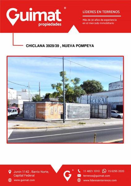 Foto Terreno en Venta en  Parque Patricios ,  Capital Federal  CHICLANA al 3900
