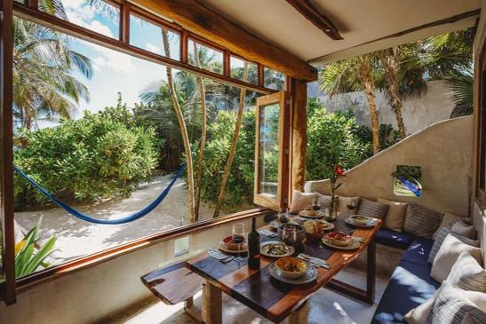 Foto Casa en Renta temporal en  Tulum Centro,  Tulum          Casa en renta zona hotelera Tulum