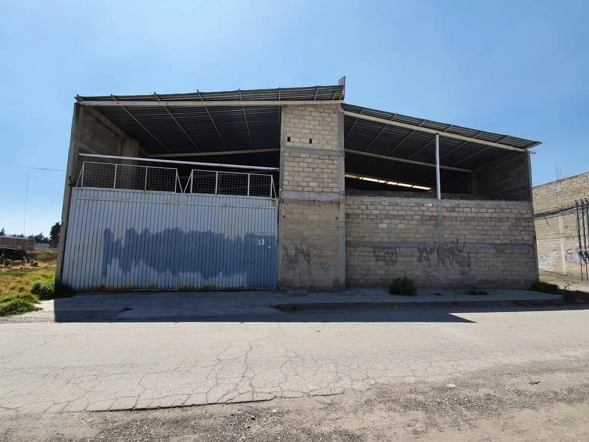 Foto Bodega Industrial en Venta en  Santa María Totoltepec,  Toluca  VENTA DE BODEGA EN OBRA GRIS  EN SANTA MARÍA TOTOLTEPEC  TOLUCA