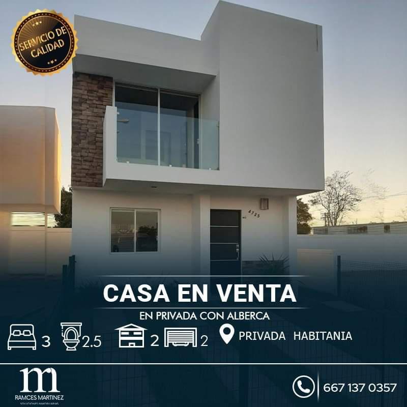 Foto Casa en Venta en  Culiacán ,  Sinaloa  CASA EN VENTA EN PRIVADA CULIACAN