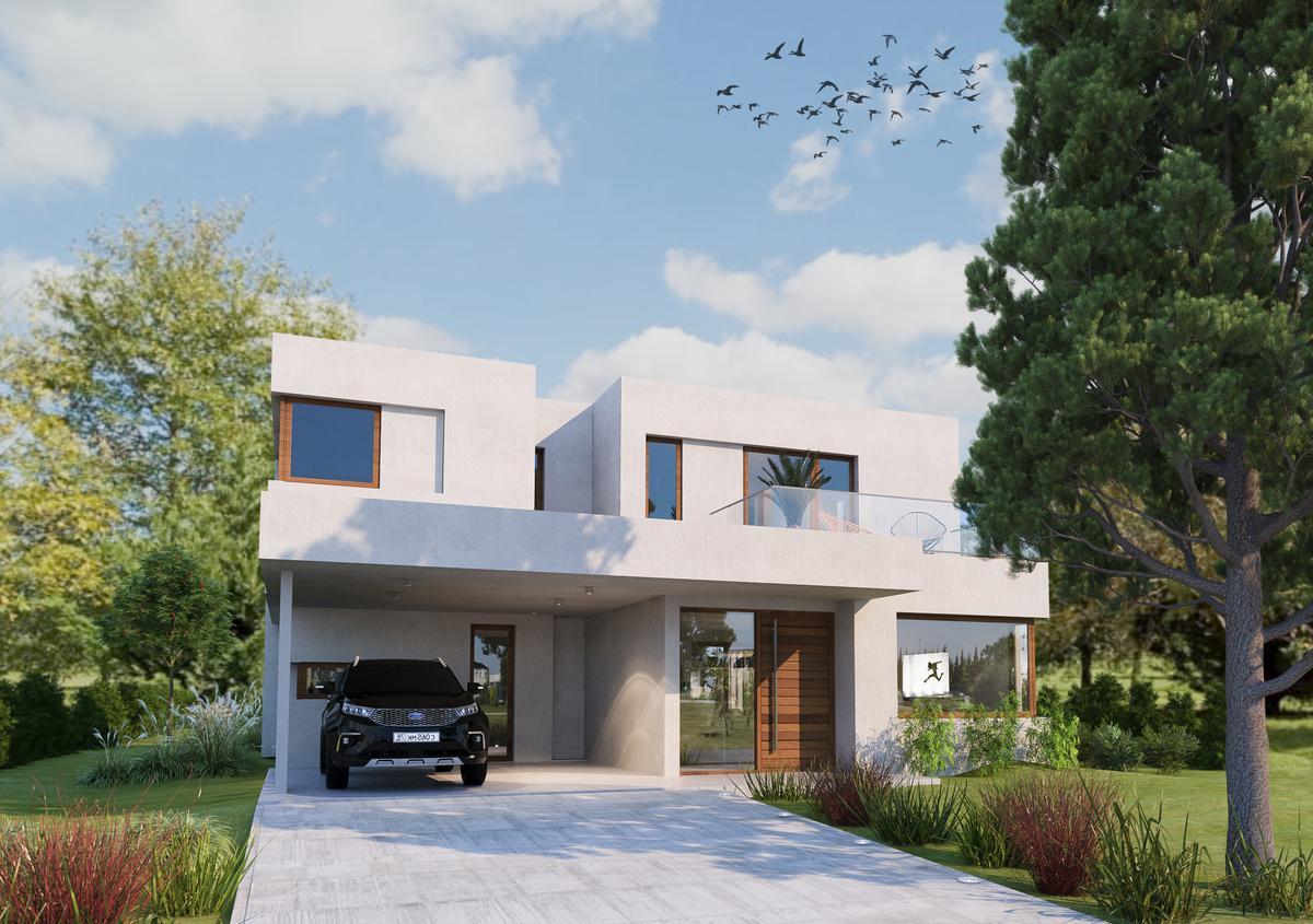 Venta casa 3 dormitorios 255 m2 1000m2 terreno piscina cocheras - La Rinconada