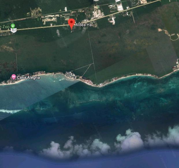 Foto Terreno en Venta en  Playa del Carmen,  Solidaridad  TERRENO EN ALDEA HA CON AMENIDADES MUY CERCA DEL MAR
