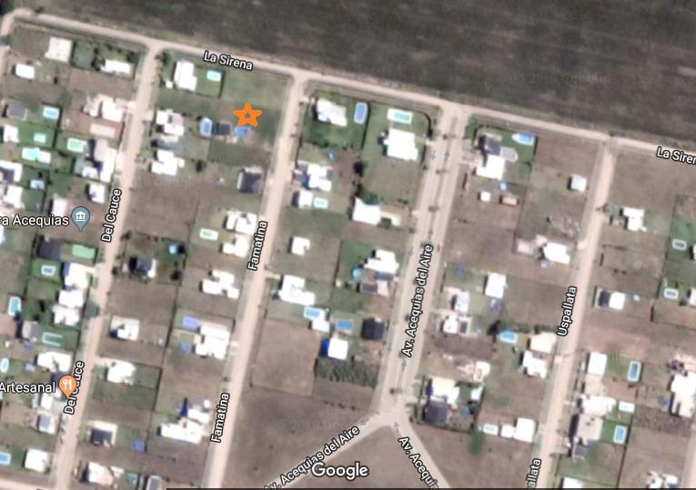 Foto Terreno en Venta en  Roldan,  San Lorenzo  Terreno con pileta en Las Acequias del Aire, Roldan