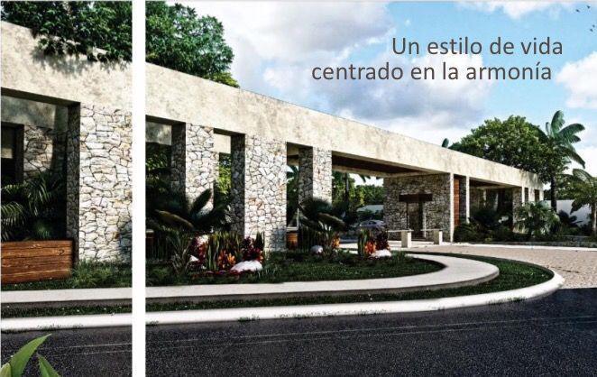 Foto Terreno en Venta en  Pueblo Chablekal,  Mérida  Venta Terrenos Residenciales en Privada El Cortijo