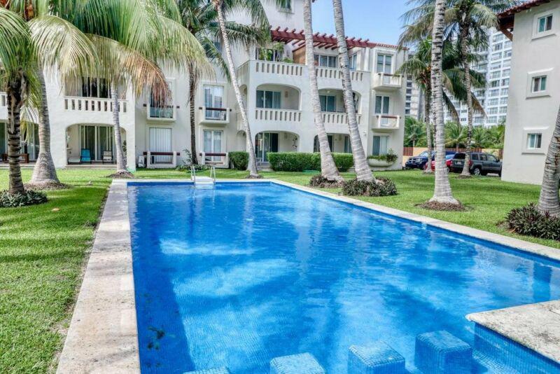 Foto Departamento en Renta en  Cancún,  Benito Juárez  RENTA DEPARTAMENTO, EL TABLE,  ENTRADA ZONA HOTELERA, CANCUN, Q. ROO, CLAVE BLAN162020