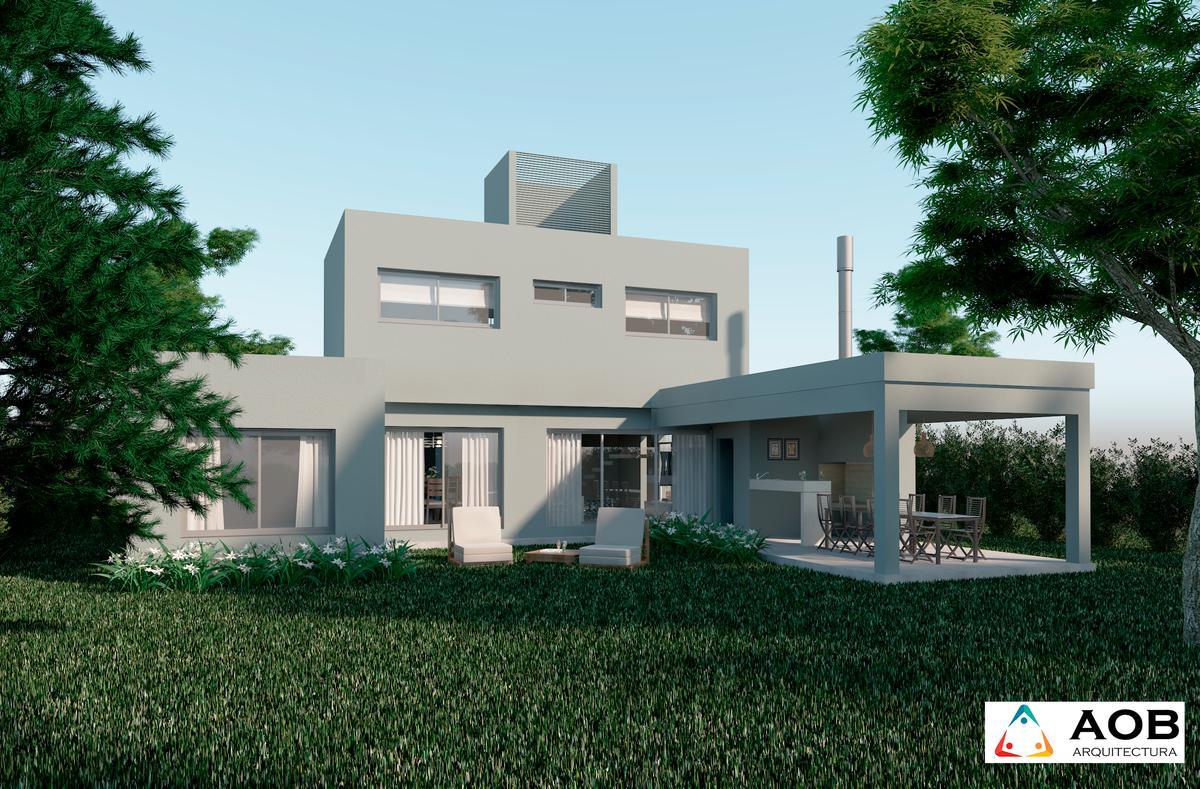Venta casa dos plantas 3 dormitorios 217 m2 1000m2 terreno piscina cocheras - La Rinconada