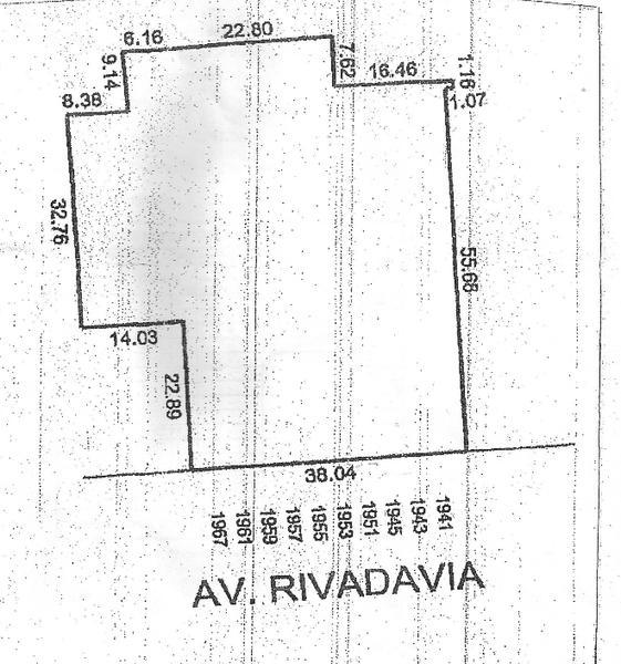 Foto Terreno en Venta en  Congreso ,  Capital Federal  Av. Rivadavia al 1900