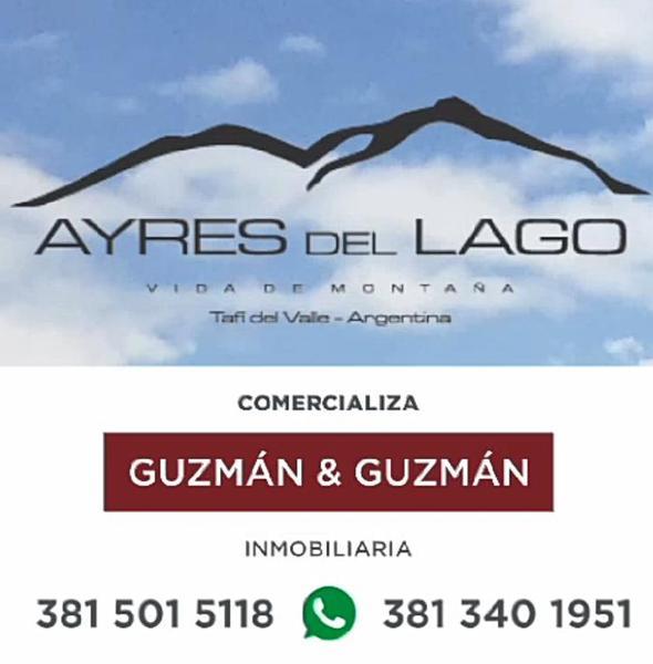 Foto Terreno en Venta en  Tafi Del Valle ,  Tucumán  Ayres del Lago - Lotes Financiados!
