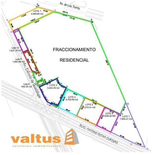 Foto Terreno en Venta en  Satélite Francisco I Madero,  San Luis Potosí  Lotes Comerciales en Venta cerca a Fenapo
