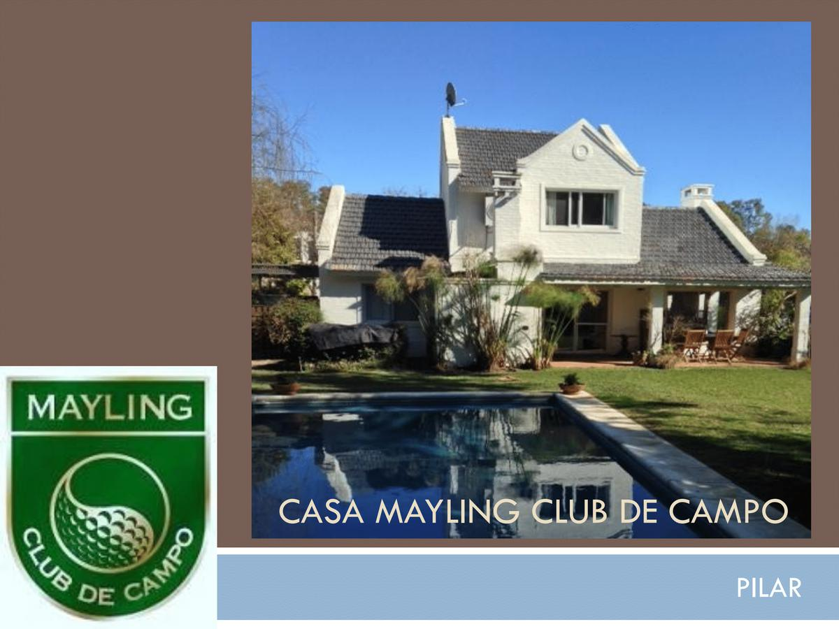 Foto Casa en Alquiler en  Mayling Club De Campo,  Countries/B.Cerrado (Pilar)  Mayling Club de Campo Casa Alquiler anual
