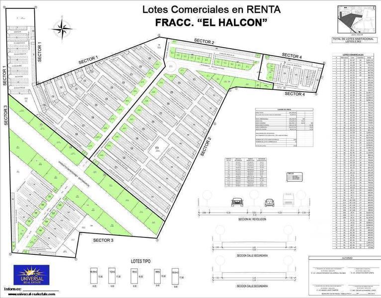 Foto Terreno en Renta en  Fraccionamiento El Halcón,  Reynosa  Fraccionamiento El Halcón