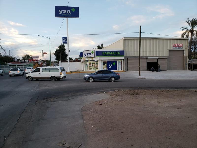 Foto Bodega Industrial en Renta en  El Ranchito,  Hermosillo  BODEGA COMERCIAL RENTA EL RANCHITO
