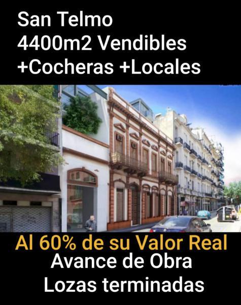 Foto Terreno en Venta en  San Telmo ,  Capital Federal  TACUARI al 900