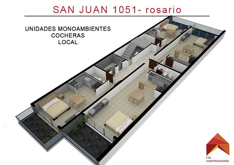 Foto Departamento en Venta en  Rosario,  Rosario  San Juan 1051