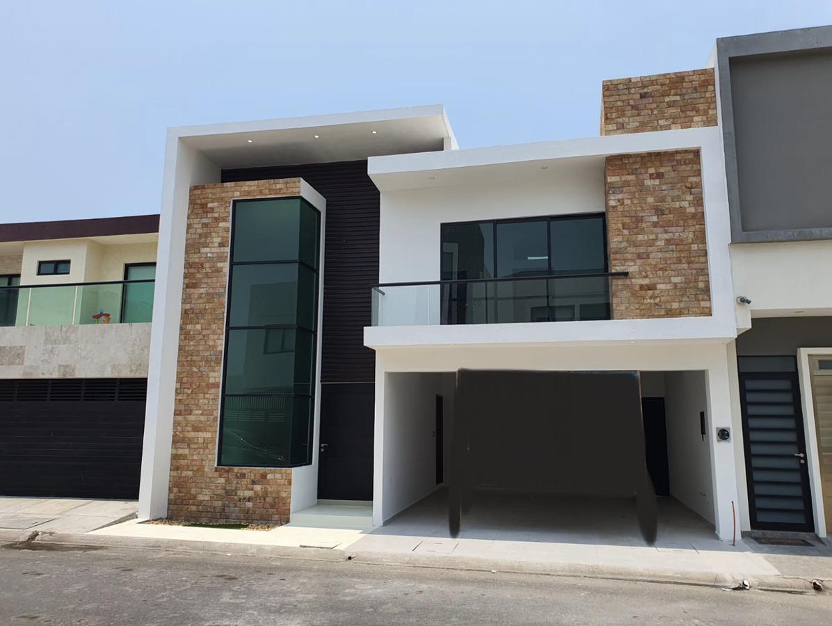 Foto Casa en Venta en  Lomas del Mar,  Alvarado  FRACC. LOMAS DEL MAR, Casa en VENTA con alberca, jardín, terraza y área de TV, (GJ)