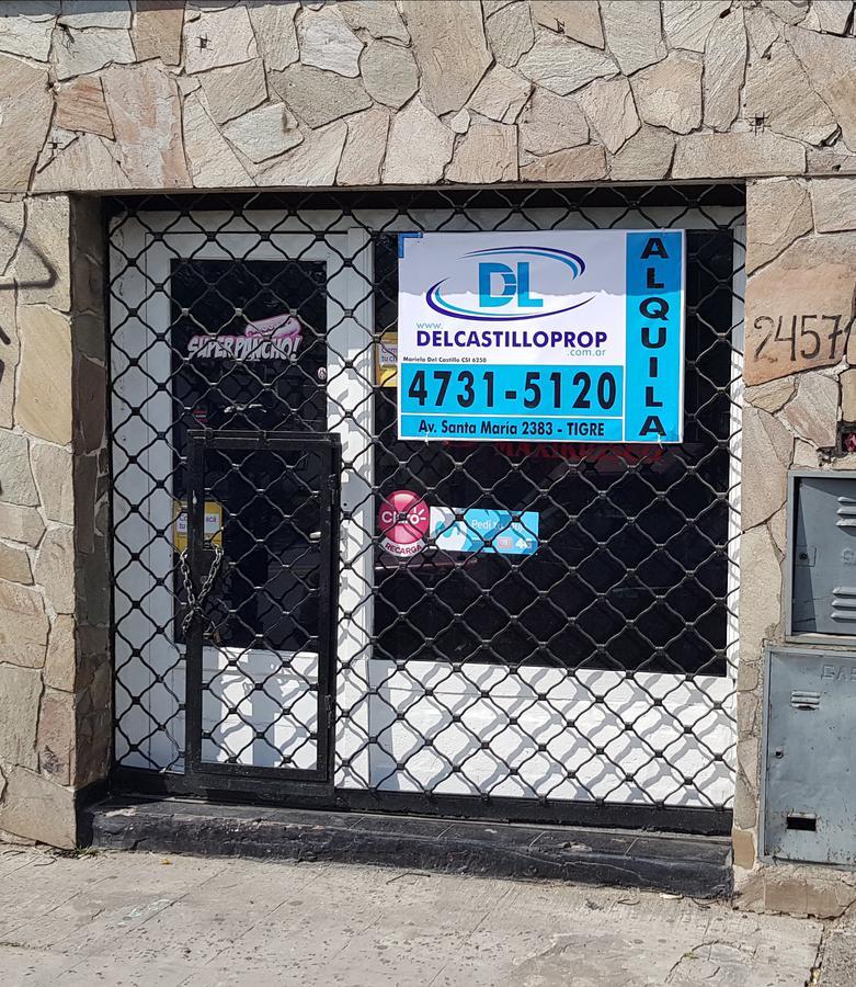 Foto Local en Alquiler en  Rincon De Milberg,  Tigre  Av. Santa María al 2400