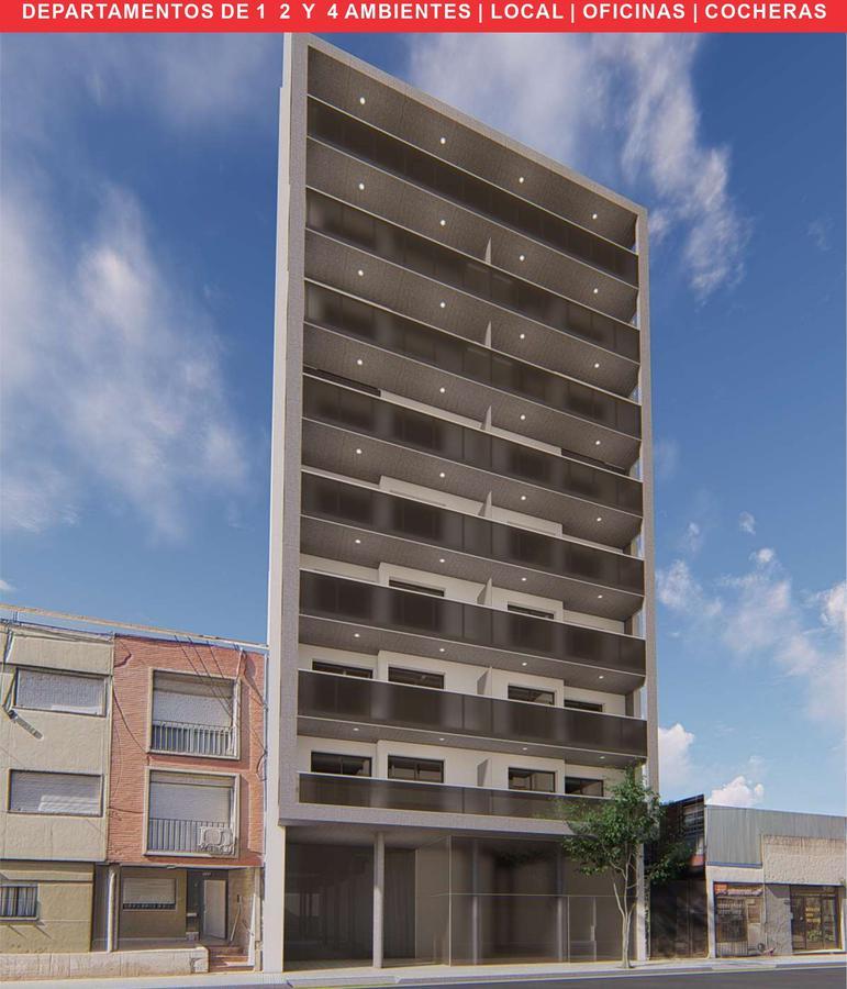 Venta departamento 1 dormitorio al contrafrente balcón en Edificio Balcarce 1351 - Moderno