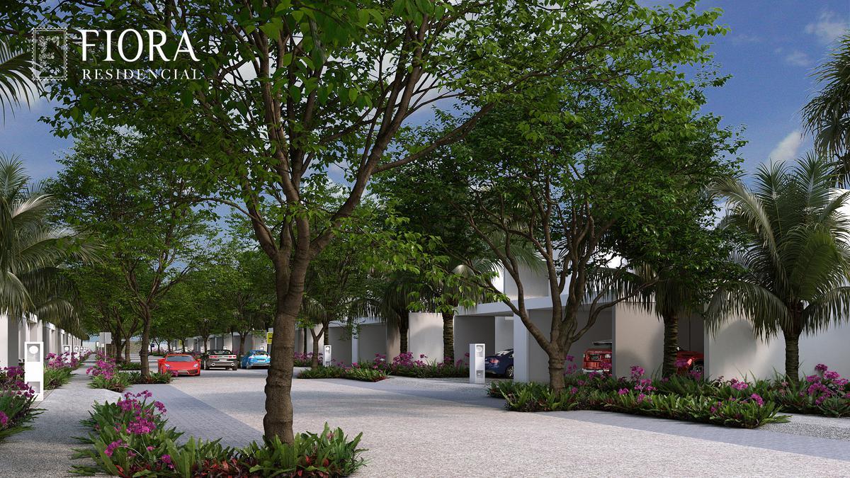 Foto Casa en Venta en  Pueblo Cholul,  Mérida  CASA DE LUJO EN PREVENTA UBICADA EN CHOLUL. Fiora Residencial. Mod Lily B