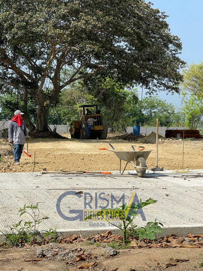 """Foto Terreno en Venta en  Ejido Isla de Juana Moza,  Tuxpan  LOTES EN FRACCIONAMIENTO FRENTE AL RÍO """"RESIDENCIAL MARINA LOS MANGOS"""""""
