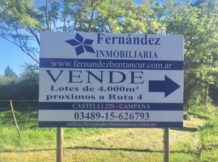 Foto Terreno en Venta en  Los Cardales,  Exaltacion De La Cruz  Lotes proximos a Ruta 4