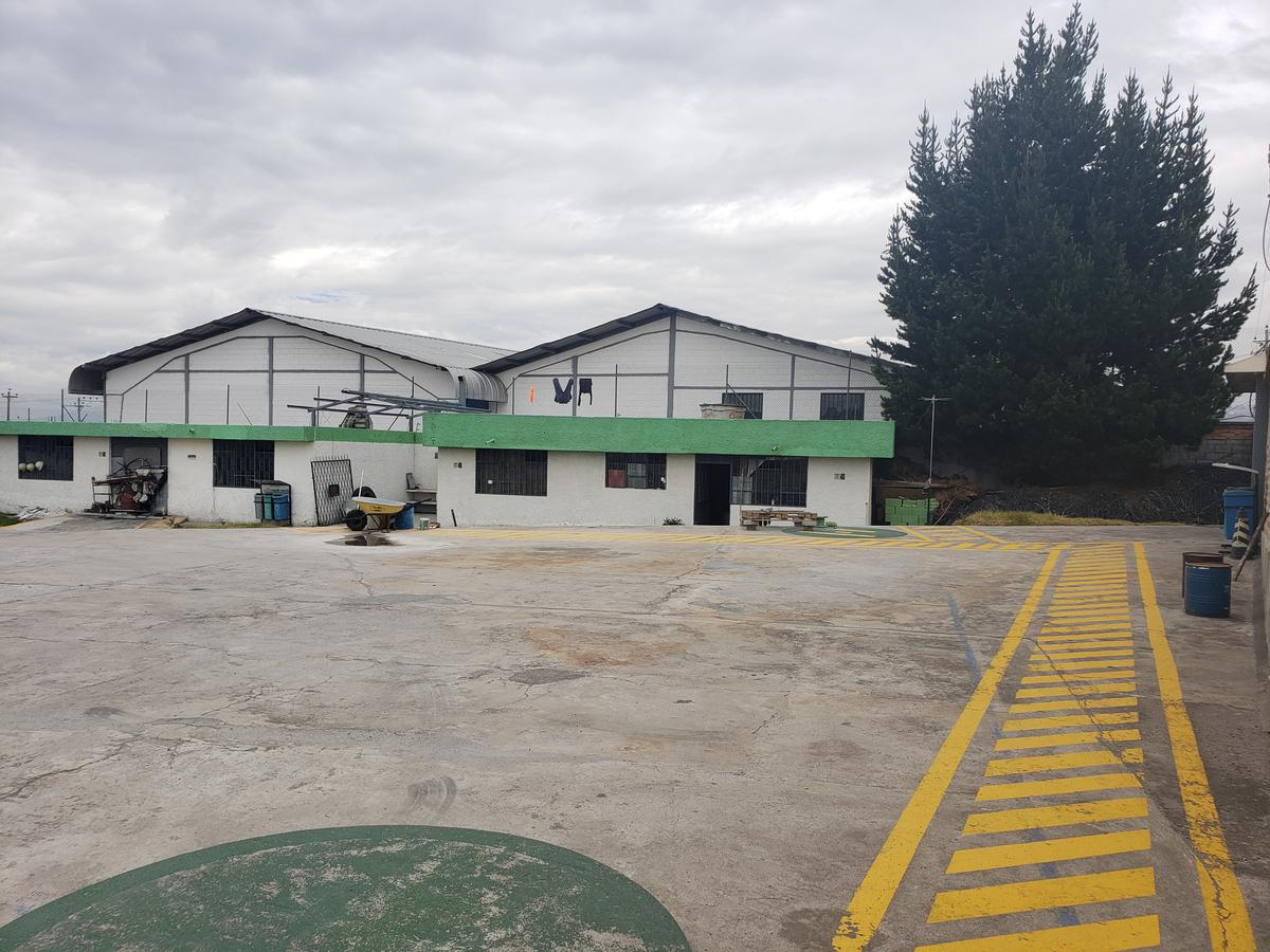 Foto Terreno en Alquiler en  Calderón,  Quito  TERRENO CALDERON (Panamericana Norte y Lizardo Becerra)