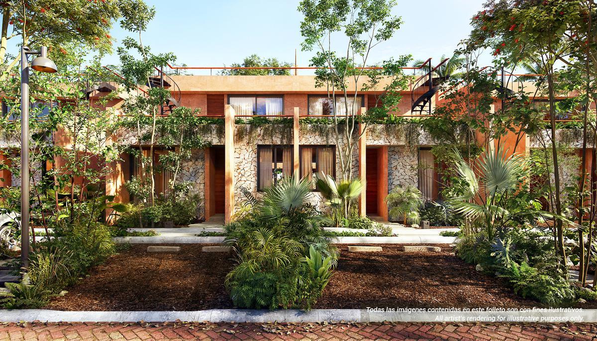 Foto Casa en Venta en  Tulum ,  Quintana Roo  Condominio de casas, departamentos, estudios, ALDEA SAVIA