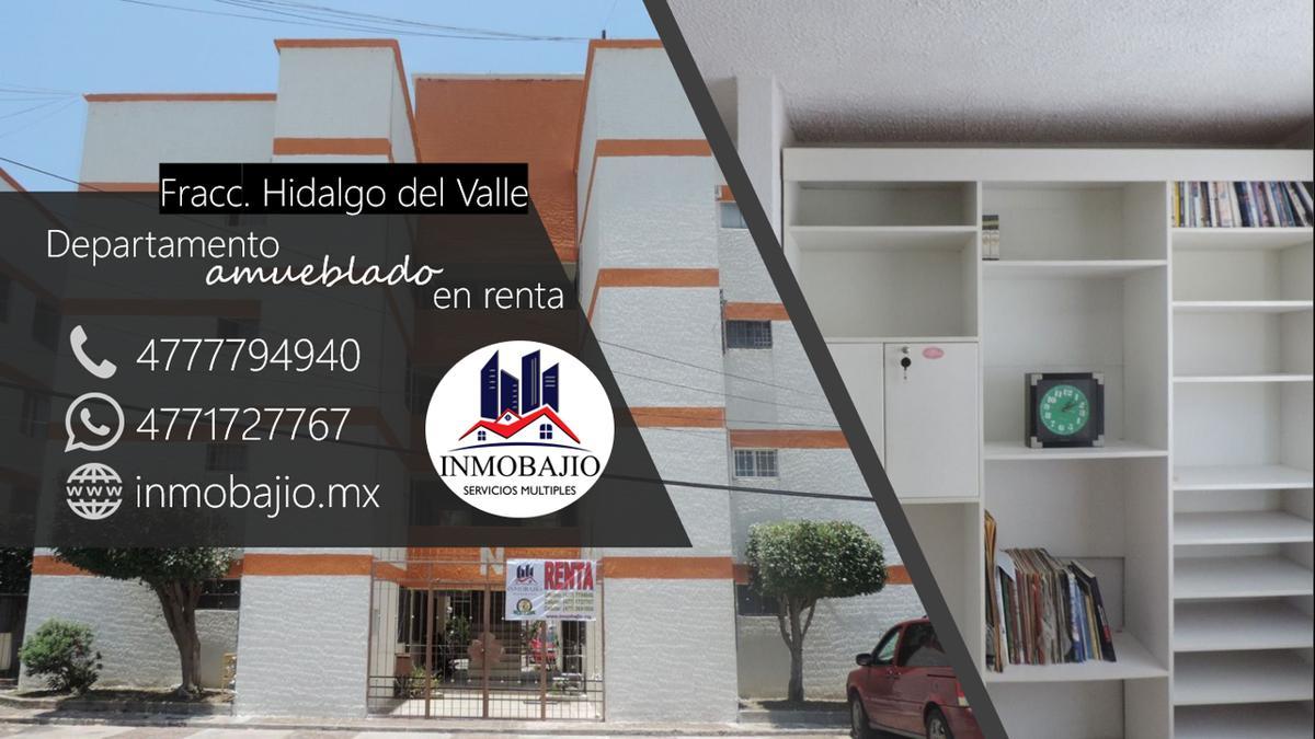 Foto Departamento en Renta en  Conjunto habitacional Hidalgo del Valle,  León  Departamento amueblado en Hidalgo del Valle